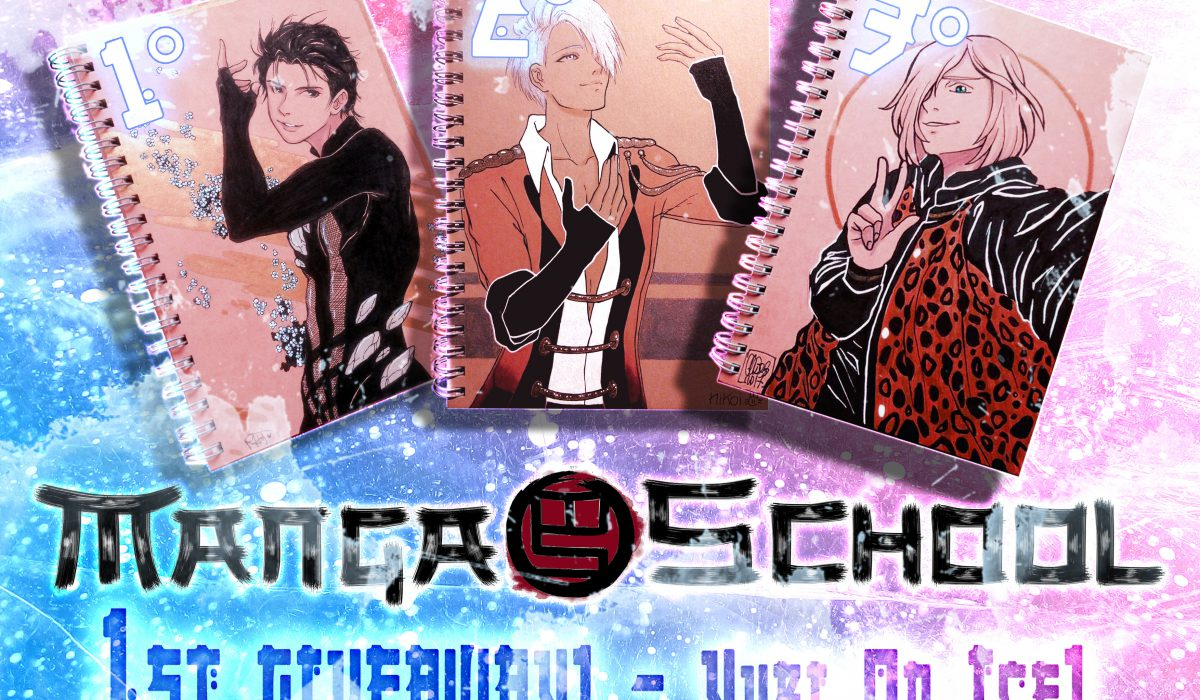 Giveaway di Manga School dedicato a Yuri on Ice!!