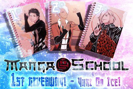 Giveaway di Manga School dedicato a Yuri on Ice!!