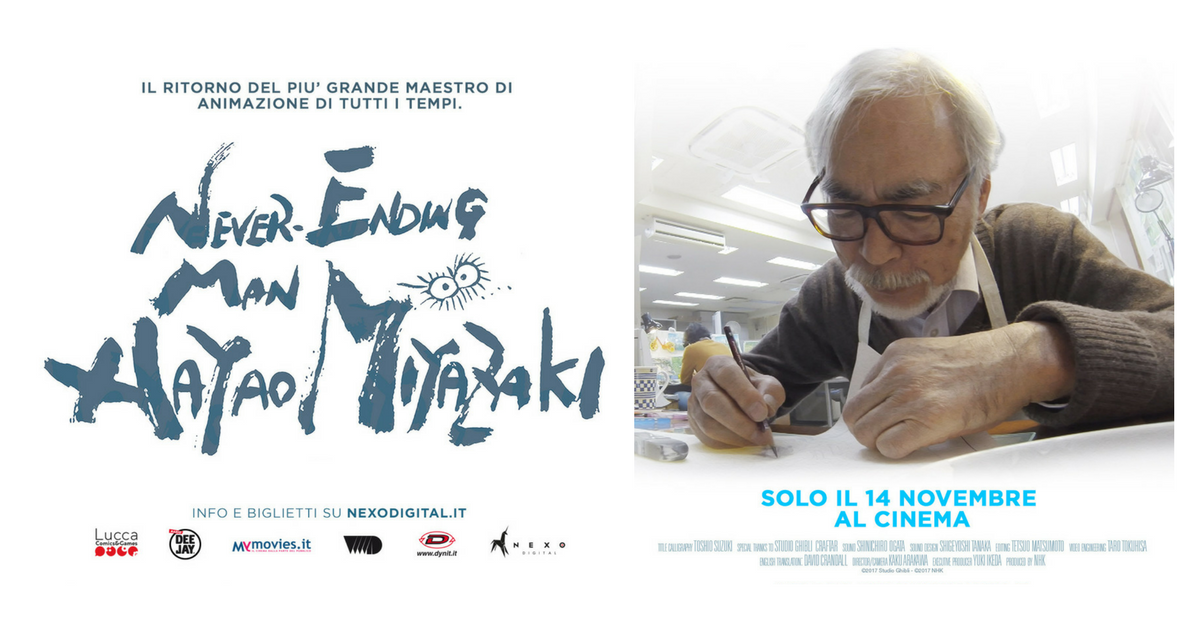 "Coupon sconto per ""Never Ending Man – Hayao Miyazaki"""