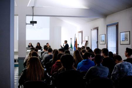 Presentazione dei corsi VeneziaComix all'Istituto Parini