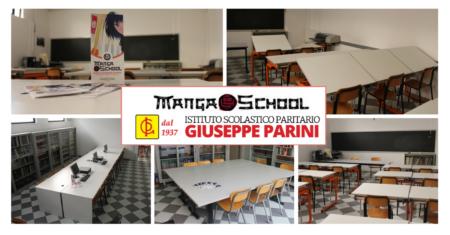 La nuova sede dei corsi Mangaschool: Istituto G. Parini