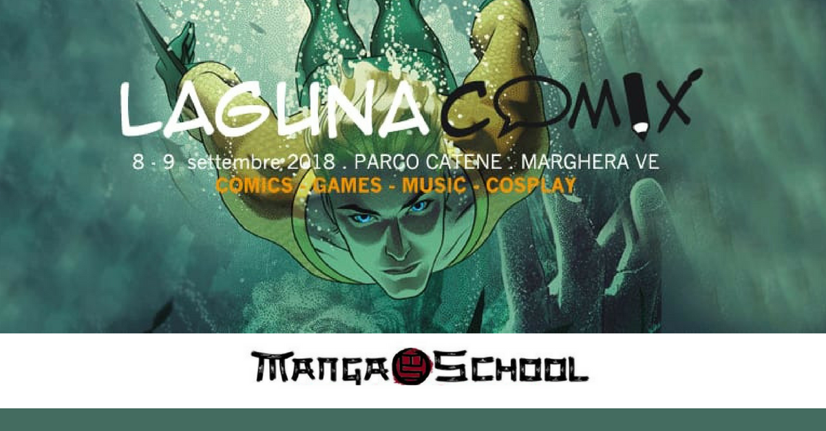 La MangaSchool a Laguna Comix!