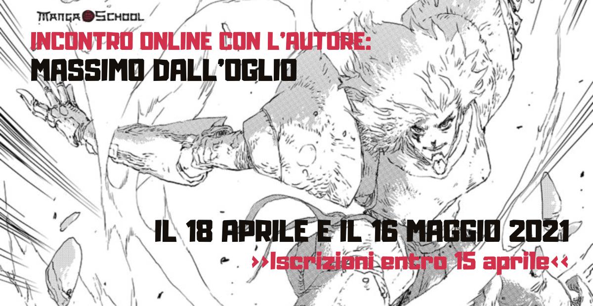 Incontro online con Massimo Dall'Oglio!